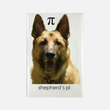 Shepherd's Pi (German Shepherd's Pie) Rectangle Ma