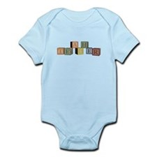 Teacher Alphabet Block Infant Bodysuit