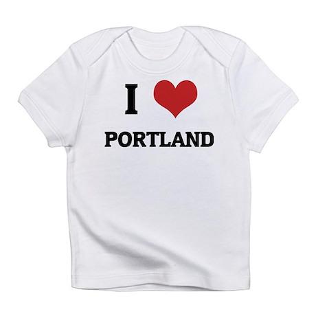 I Love Portland Creeper Infant T-Shirt