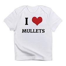 I Love Mullets Creeper Infant T-Shirt