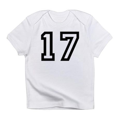 Number 17 Creeper Infant T-Shirt
