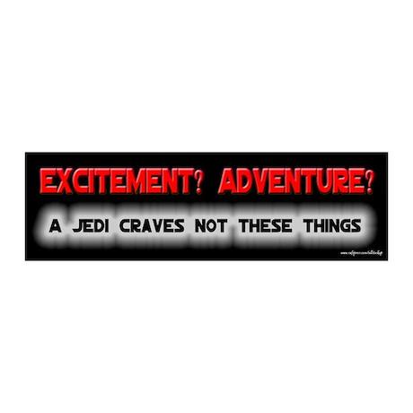 A Jedi Craves Not - Mallrats 20x6 Wall Peel