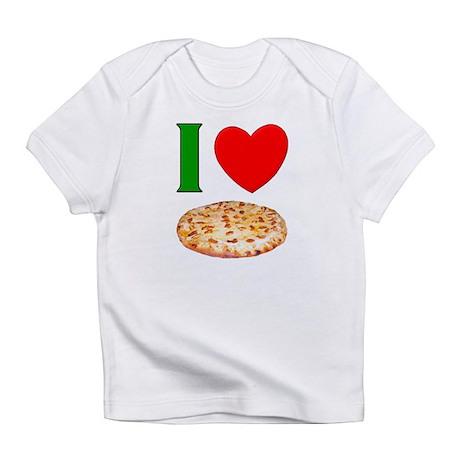 I Love Pizza Infant T-Shirt