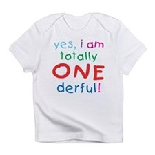 Onederful 1st Birthday First Creeper Infant T-Shir