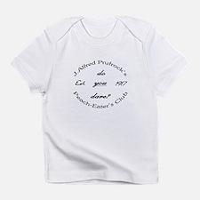 Peach-Eater's Club Creeper Infant T-Shirt