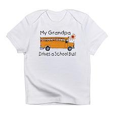 Grandpa Drives a Bus - Creeper Infant T-Shirt