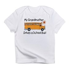 Grandmother Drives a Bus - Creeper Infant T-Shirt