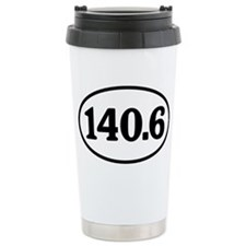 140.6 Triathlon Oval Travel Mug