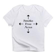 Smoke Free Area Creeper Infant T-Shirt