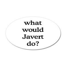 Javert 20x12 Oval Wall Peel