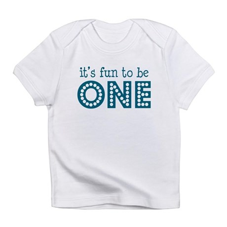 It's fun to be one Creeper Infant T-Shirt