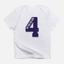 Purple 4 Infant T-Shirt