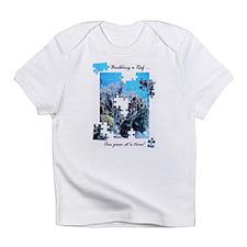 """Building a Reef ..."" Creeper Infant T-Shirt"