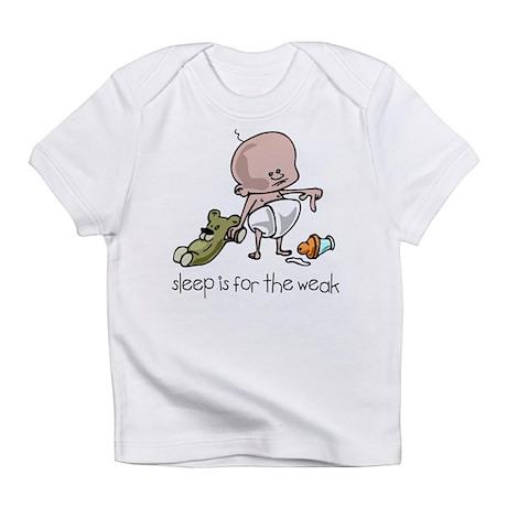 Sleep Is For The Weak Creeper Infant T-Shirt