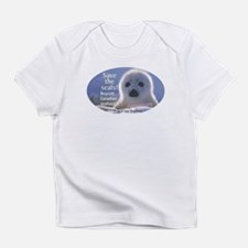 Save the seals! Creeper Infant T-Shirt