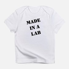 Made in a Lab (black) Creeper Infant T-Shirt