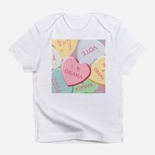 Sweet Obama Valentine Infant T-Shirt