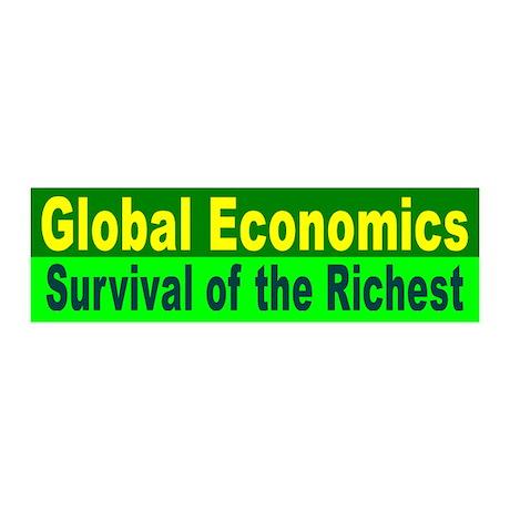 GLOBAL ECONOMICS 20x6 Wall Peel