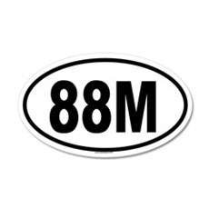 88M 20x12 Oval Wall Peel