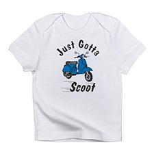 Just Gotta Scoot Blue Creeper Infant T-Shirt