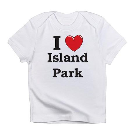 I Love Island Park Infant T-Shirt