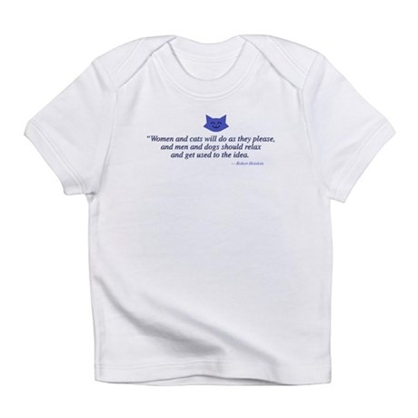 Women and Cats Creeper Infant T-Shirt
