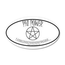 Phi Power 35x21 Oval Wall Peel
