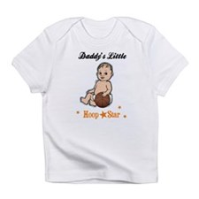 Daddy's Little Hoop Star Creeper Infant T-Shirt