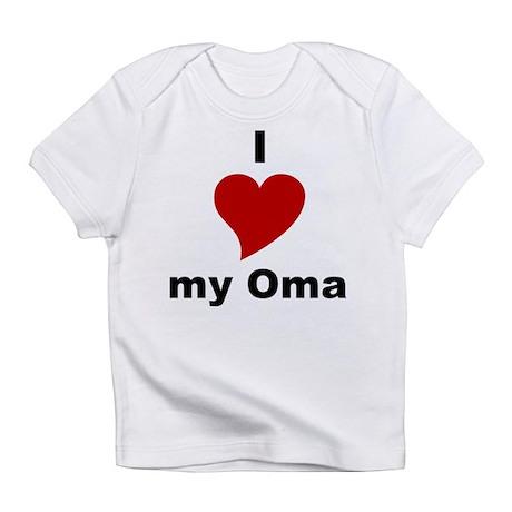 I Love My Oma Creeper Infant T-Shirt