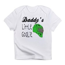 Daddy's Goalie for Boys Creeper Infant T-Shirt