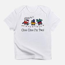 Choo Choo I'm 2 Infant T-Shirt