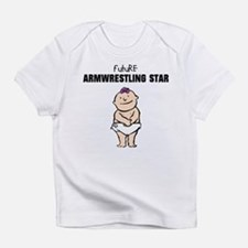 Future Armwrestling Girl Infant T-Shirt