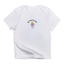 Lil Swimmer Blonde Girl Infant T-Shirt
