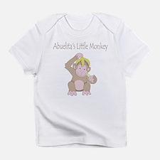 Abuelita's Little Monkey Infant T-Shirt