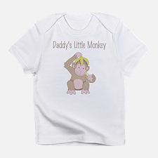 Daddy's Little Monkey Infant T-Shirt