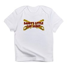 Daddy's Little Cav Scout Infant T-Shirt