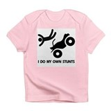 Atv toddler own stunts Infant T-Shirt