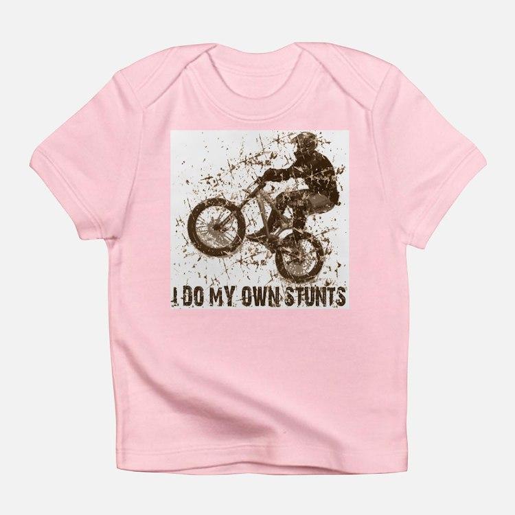 Mountain Bike, BMX - Stunts Creeper Infant T-Shirt