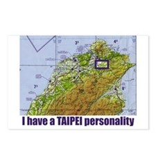 TAIPEI PERSONALITY Postcards (Package of 8)