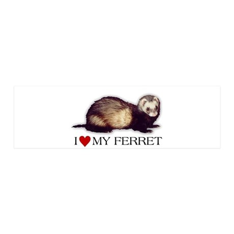 I love my ferret 36x11 Wall Peel