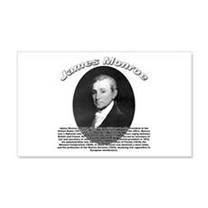 James Monroe 01 20x12 Wall Peel