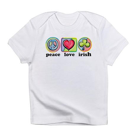 Peace Love Irish Infant T-Shirt