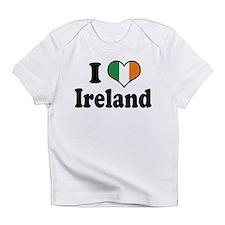 I Love Ireland Tricolor Infant T-Shirt