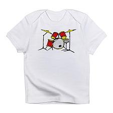 Drum Set Creeper Infant T-Shirt