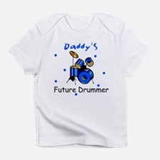 Daddy's Future Drummer Infant T-Shirt