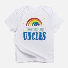 i Love My Gay Uncles Baby Infant T-Shirt