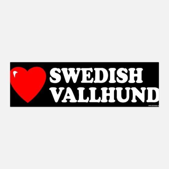 SWEDISH VALLHUND 36x11 Wall Peel