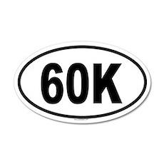 60K 20x12 Oval Wall Peel
