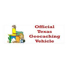 Texas Geocache 36x11 Wall Peel