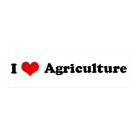 I Love Agriculture 20x6 Wall Peel